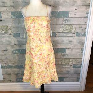 LOFT linen dress size 6